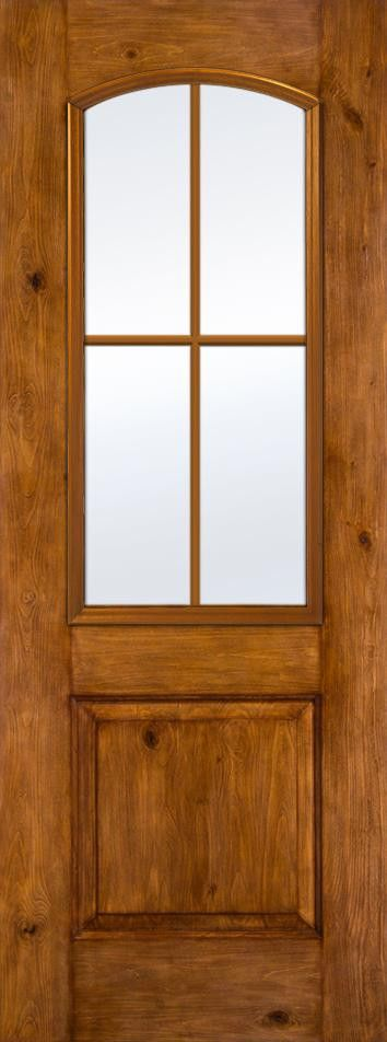 Architectural Fiberglass Exterior Doors 8ft 1 2 View Camber Top 1 Panel 4 Light Glass Pane Fiberglass Exterior Doors Exterior Doors Exterior Doors With Glass