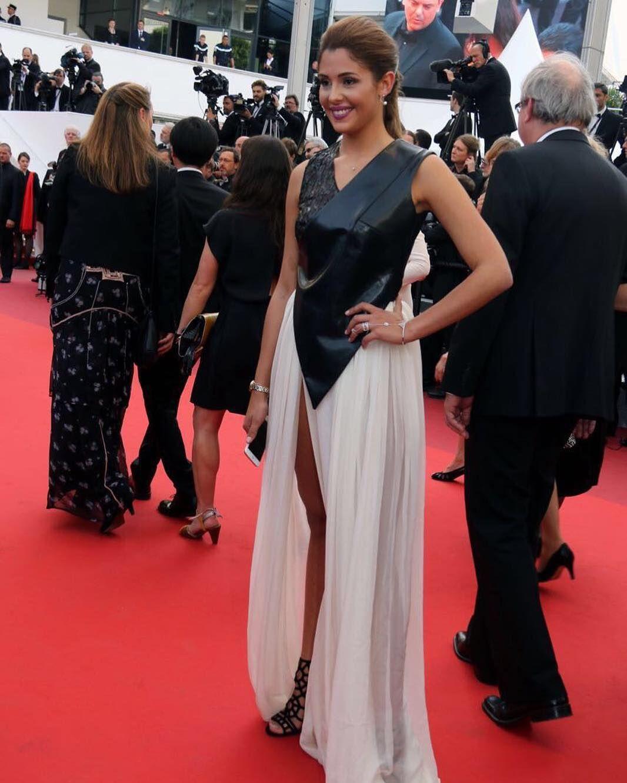 Former Miss Belgium and star @porrovecchiocoralie  walking the red carpet at the 69th International Cannes Festival @festivaldecannes in our creations #ZAIDFAROUKI -  #mydubai #iamd3 #d3dxb #fashion#style#festivaldecannes #cannes #jordan#golocaljo#jeddah #couture #hautecouture#milano#italy #myabudhabi #saudiarabia#kuwait#washingtondc#centralsaintmartins#istitutomarangoni#americanu #zaiddor#couturedesigner#cannes2016 #vscocam#thecreatorclass#agameoftones#createcommune by zaidfarouki