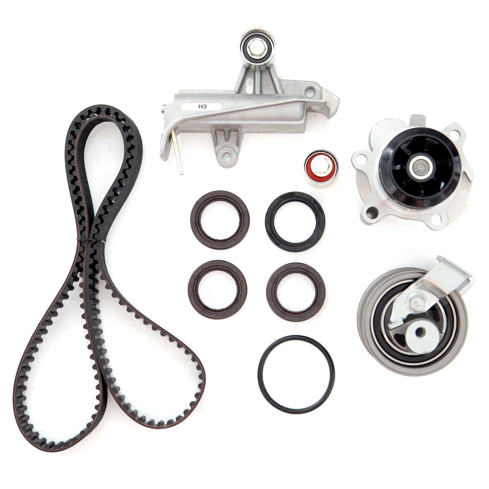 Timing Belt Water Pump Kit Eccp Volkswagen Passat Water Pumps Audi A4 Quattro