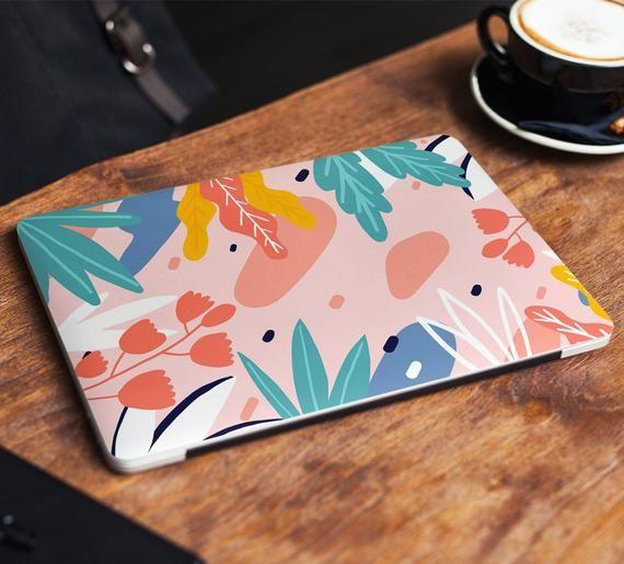 Floral Laptop Skin Sticker Abstract Pattern Vinyl