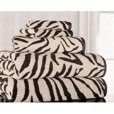 Zebra Bathroom Towels Design Ideas Beautiful Baths Pinterest - Zebra bath towels for small bathroom ideas