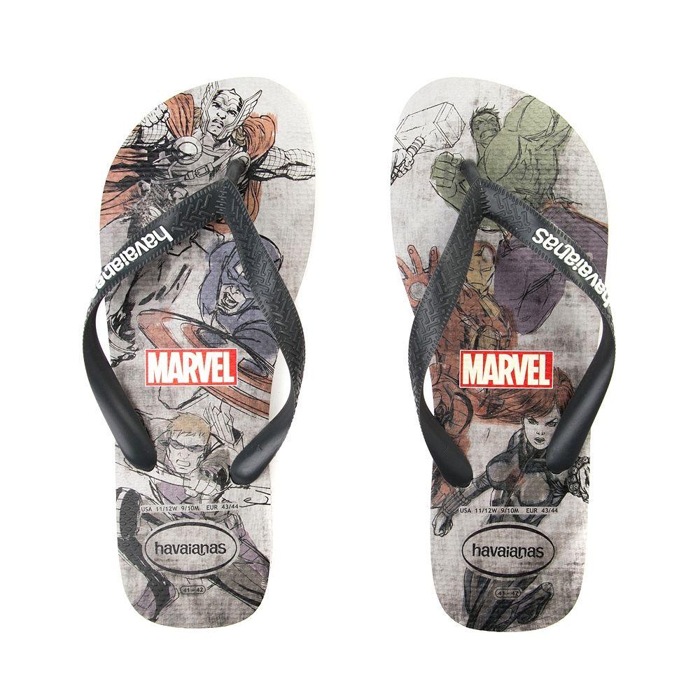 Havaianas Unisex-Adult Top Marvel Groot Flip Flop Sandal
