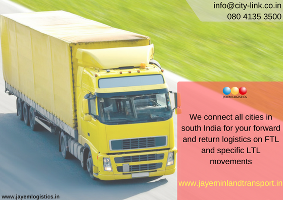 Jayem Inland Transport is engaged in within city transportation
