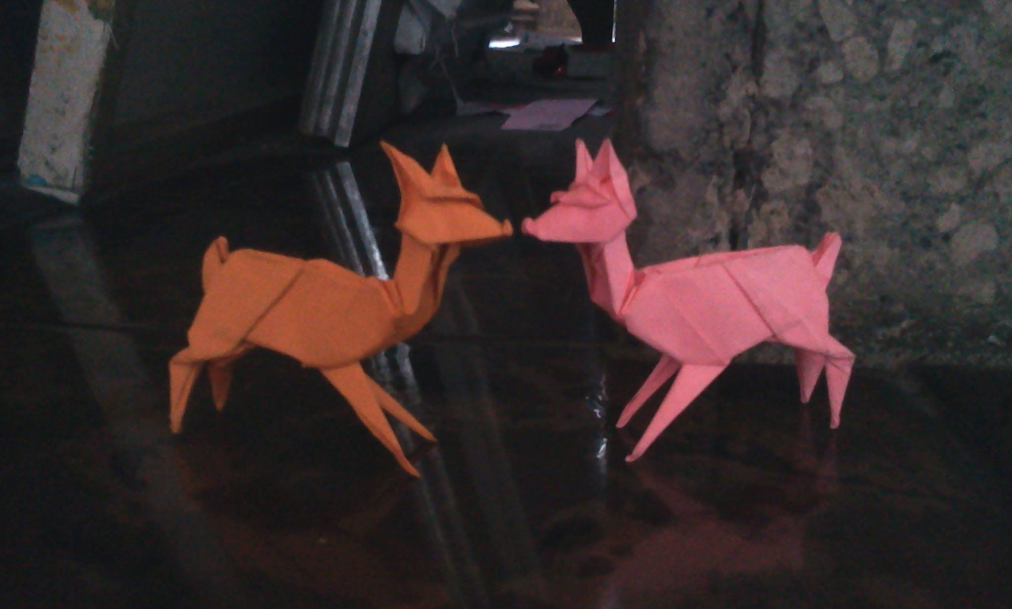 How To Make Origami Deer Stephen Weiss This Would Be Cute On A Halloween Diagram Babys Mobile