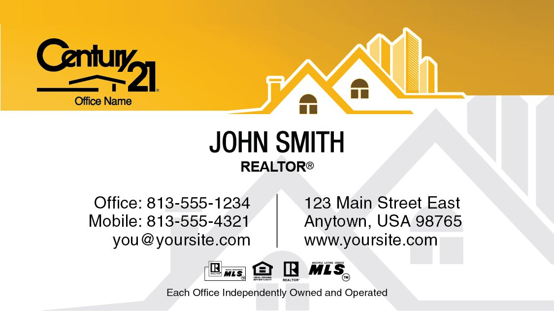 Home century 21 realtor business card template estate pinterest century 21 business cards online design and printing services for century 21 real estate agents reheart Gallery
