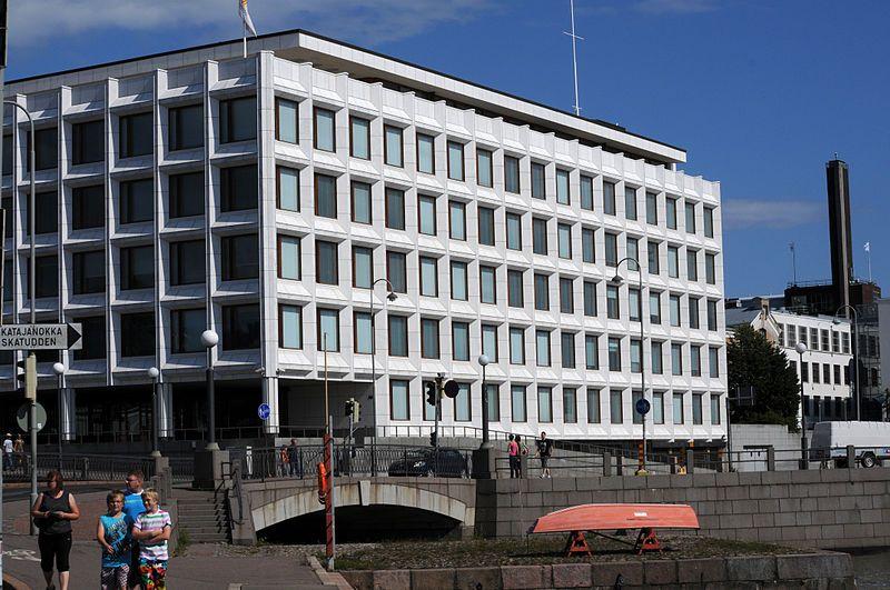 """Stora Enson pääkonttori eli entinen Enso-Gutzeitin pääkonttori on Helsingin Katajanokalla sijaitseva toimistorakennus. Vuonna 1962 valmistuneen rakennuksen on suunnitellut arkkitehti Alvar Aalto. Myös """"Sokeripalaksi""""[1] kutsutun pääkonttorin alkuperäinen rakennuttaja oli metsäteollisuuskonserni Enso-Gutzeit Oy ja sen nykyinen käyttäjä on Stora Enso Oyj."""