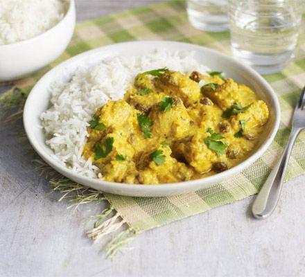 Light chicken korma recipe cream chicken korma recipe and bbc foods forumfinder Images