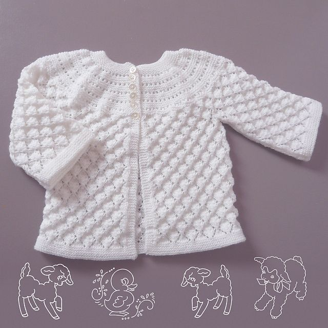 Another view of Lucille from Ravelry -- free pattern | Baby gift ...