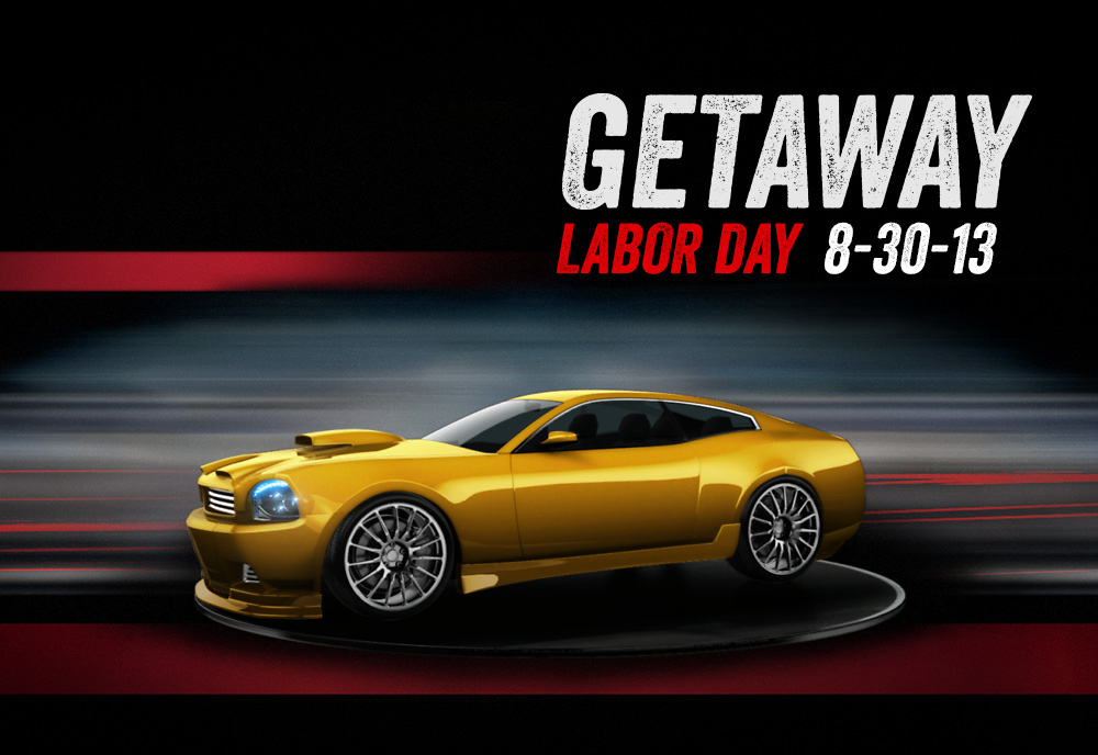Check out my custom Getaway car I created using the