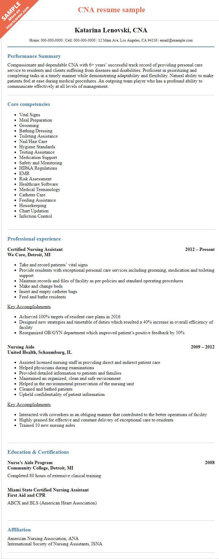 Pin On Resume Sample