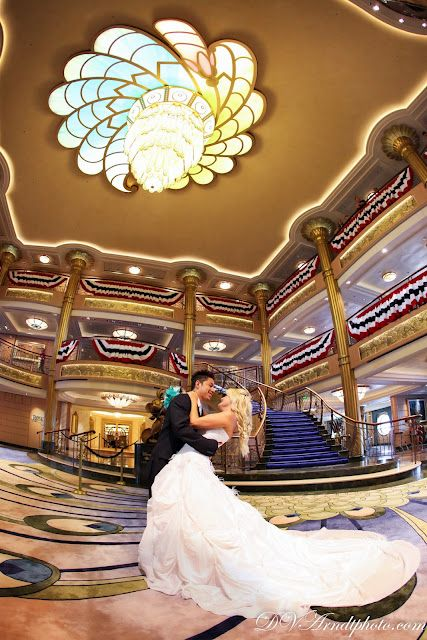 disney cruise just married and trash the dress session amanda