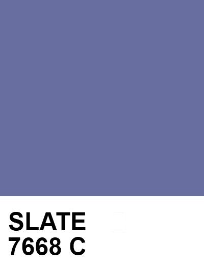 slate 686e9f 7668 c pantone colour palettes color blue palette 2018 pms 285
