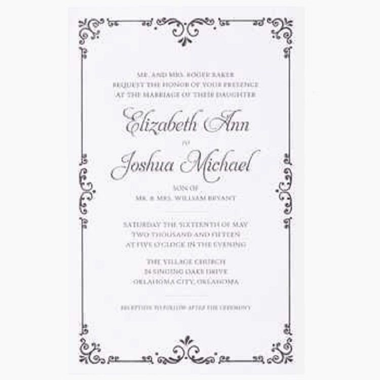 Hobby Lobby Wedding Invitation Template Invitation Ideas Hobby