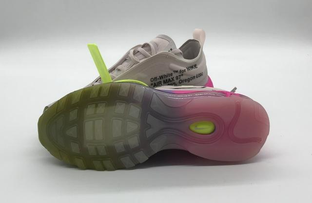 Replica Nike Air Max 97 OffWhite Elemental Rose Serena