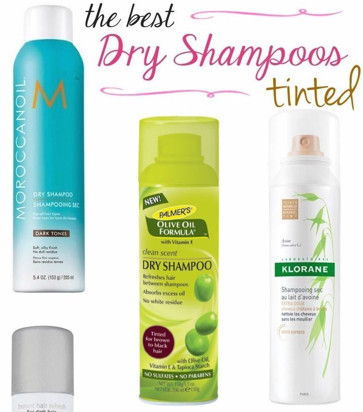 The Best Tinted Dry Shampoos For Dark Hair Dry Shampoo Good Dry Shampoo Shampoo Design