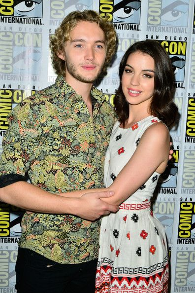 Toby Regbo Photos Photos - Actor Toby Regbo (L) and actress Adelaide Kane attends CBS Television Studios' series press lines 'Reign', 'Under The Dome' and 'Scorpion' during Comic-Con International 2014 at Hilton Bayfront on July 24, 2014 in San Diego, California. - CBS Press Lines at Comic-Con