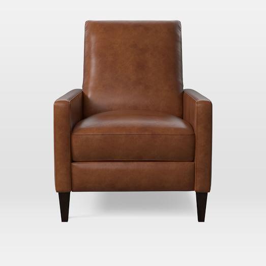 Sedgwick Recliner Stetson Leather Cognac Living Room
