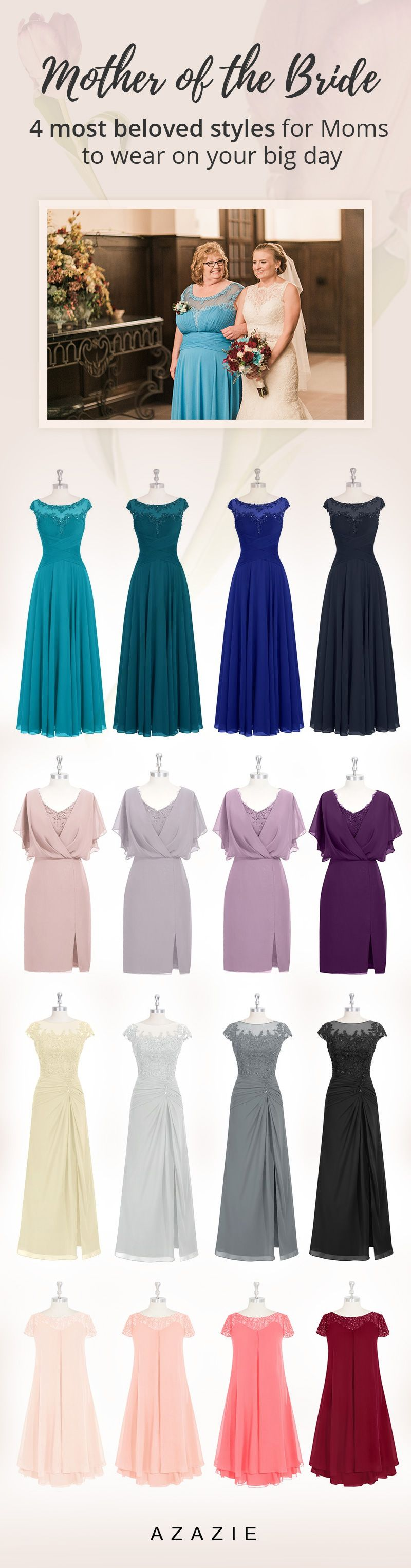 Elegant dresses for the woman who has loved you unconditionally