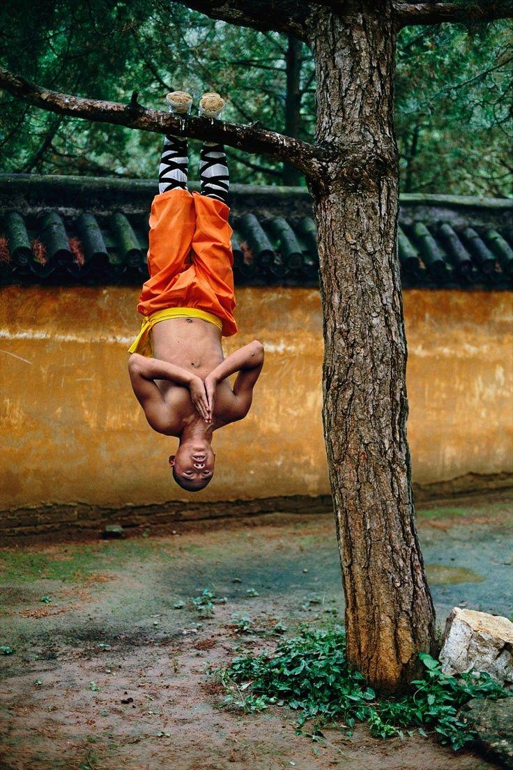Смешная картинка медитирующего