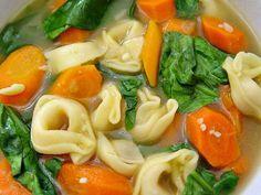 Pressure Cooker Tortellini Soup