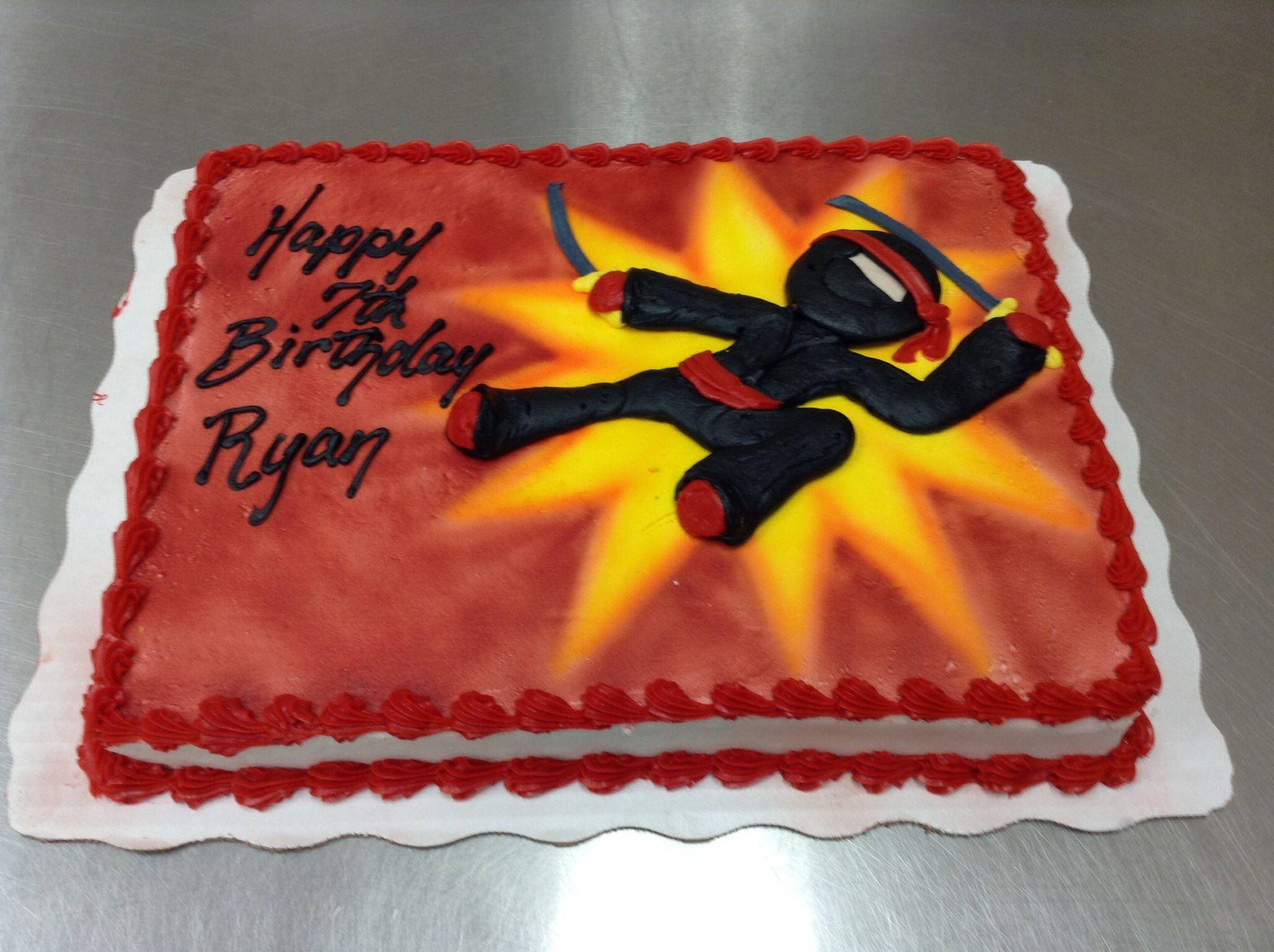 Ninja Cake Cakes By Laurie Grissom Pinterest Ninja Cake Ninja