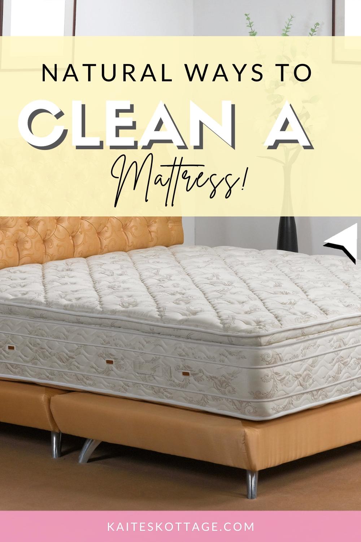 Latest Natural ways to clean a mattress! Mattress cleaning