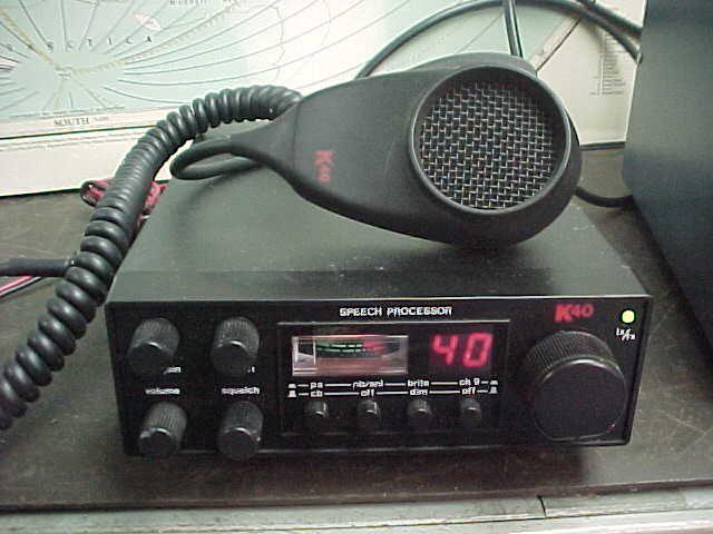 K40 40ch  mobile with speech processor   WBY - CB / HAM