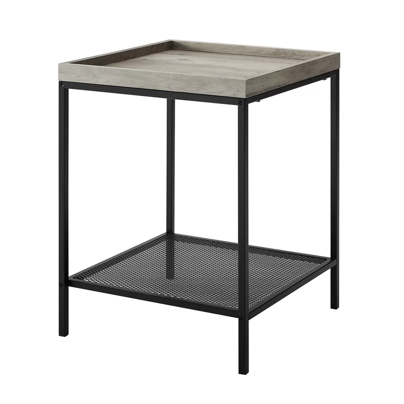 Pullman Tray Table Square Side Table Black Side Table Square Tray