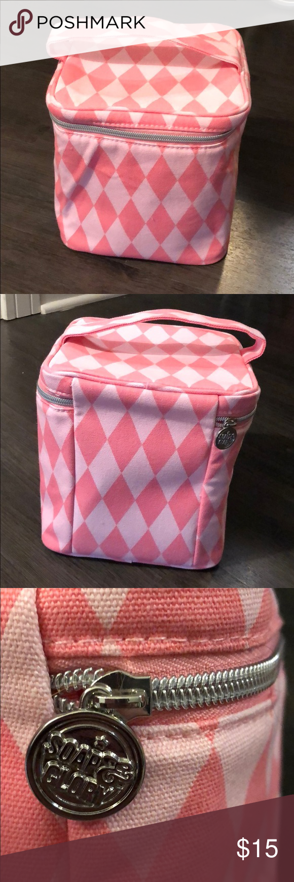 Soap and Glory train case for cosmetics Soap and glory