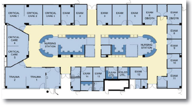 Emergency Room Layout Design Google Search Room Layout Room