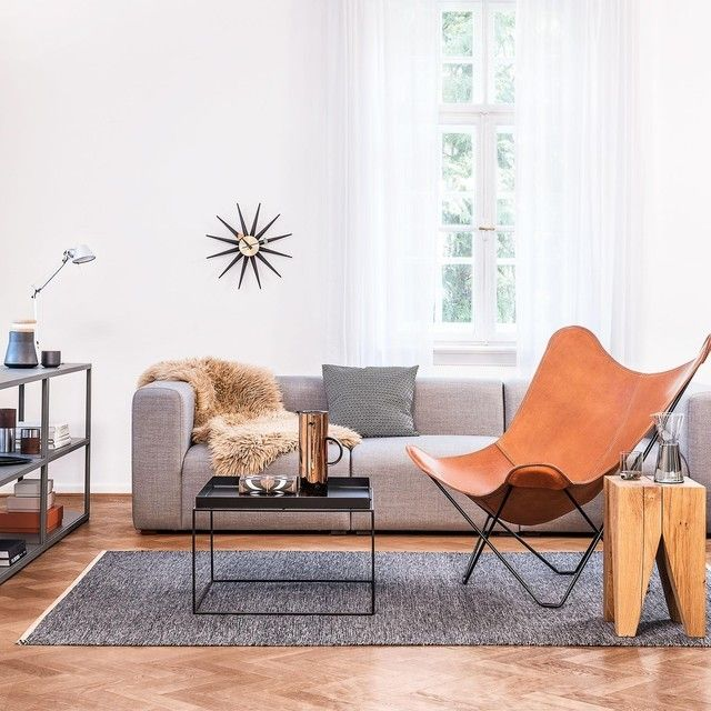 cuero Pampa Mariposa Butterfly Chair Sessel