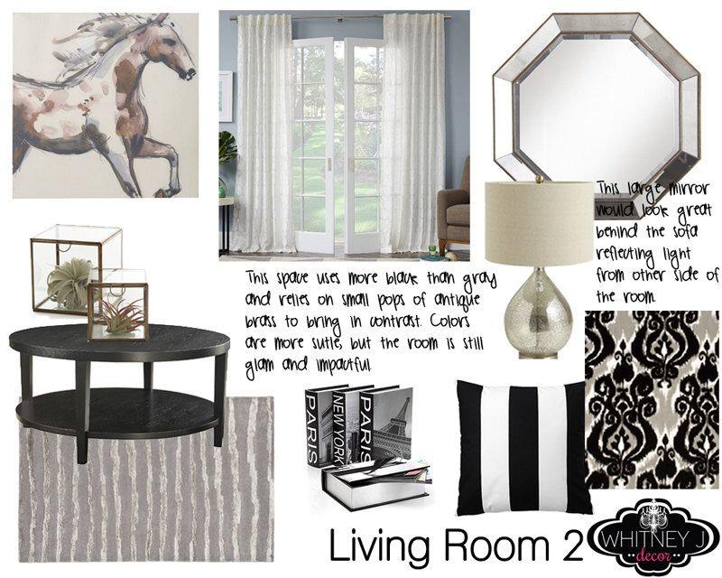 Custom Home Decor Design Board And Shopping List Interior Design Moodboard  Any Room   Furniture,