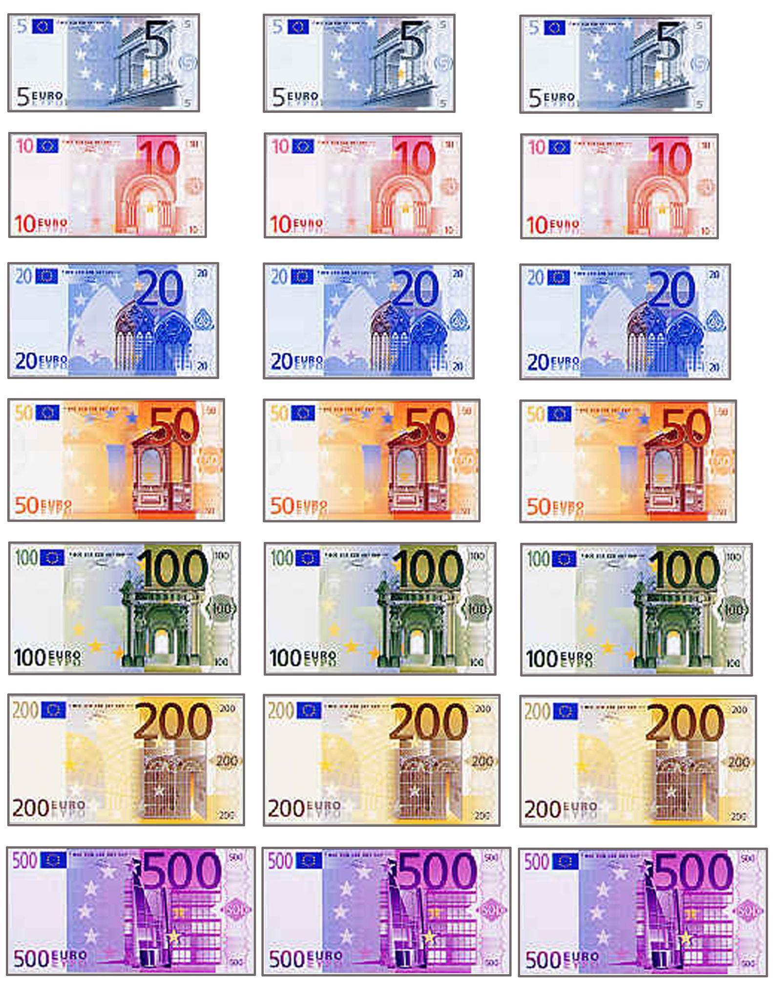 Imprimer Des Faux Billets Pour Enfants Jeux A Imprimer Avec Faux Billet A Imprimer Jeux A Imprimer Jeux De Marchande Billet En Euros
