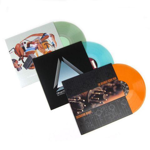 The Dillinger Escape Plan Colored Vinyl Lp Album Pack Calculating Infinity Miss Machine Ire Works With Images Lp Albums Escape Plan Vinyl