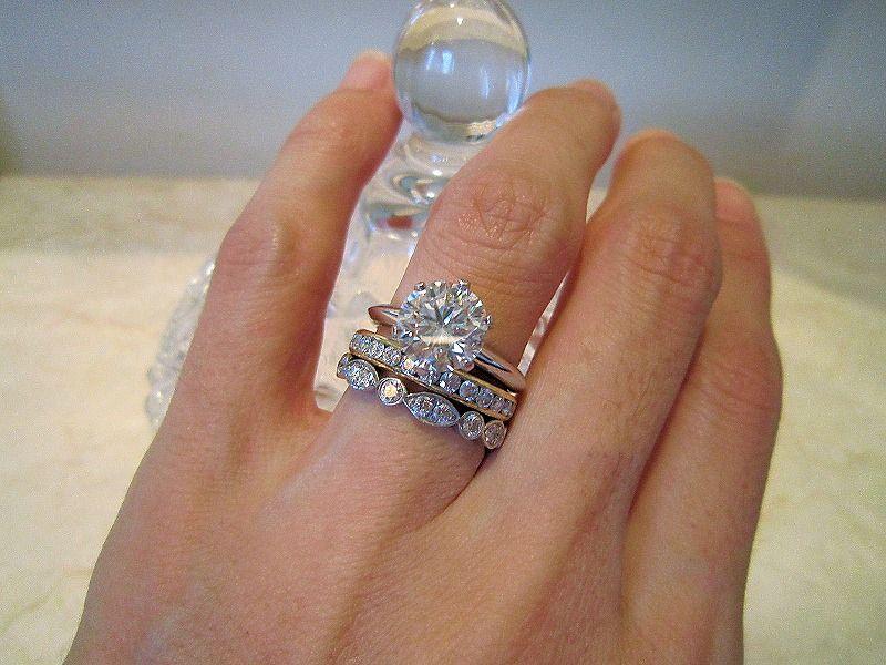 5c9692341 Celebrity engagement ring. Ashoori & Co Jewelers will custom make any  jewelry you desire. For more info, call (559) 625–3119 #Celebrities #Diamond  #Fashion ...