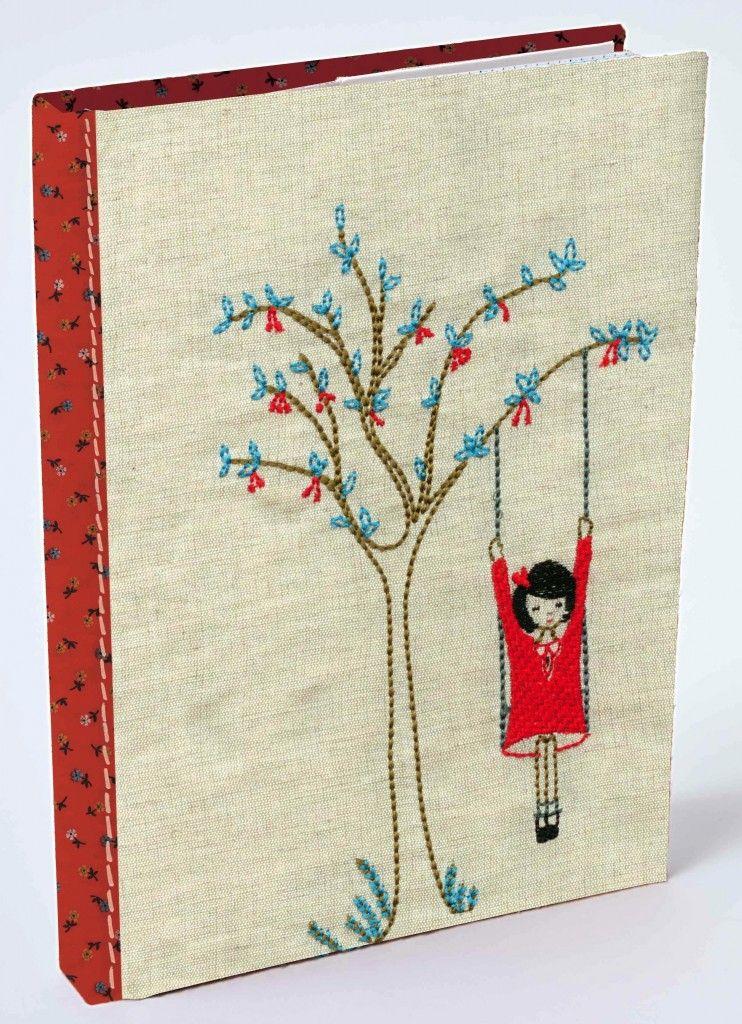 Tree swing quilt journal embroidery pinterest swings