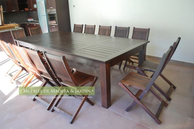 fabrica de mesas y sillas de comedor   Muebles de Jardin   Pinterest