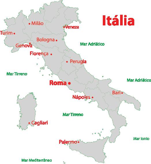 italia cidades mapa Resultado de imagem para mapa italia cidades   CIDADANIA   Pinterest italia cidades mapa