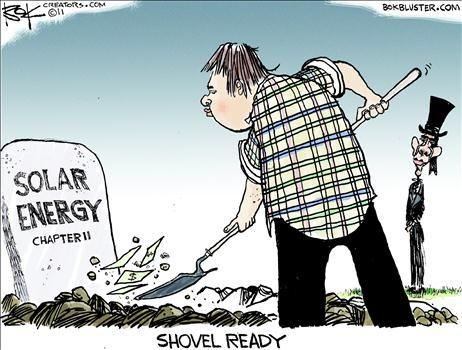 Solar Farm Political Cartoons Solar Energy Ready For