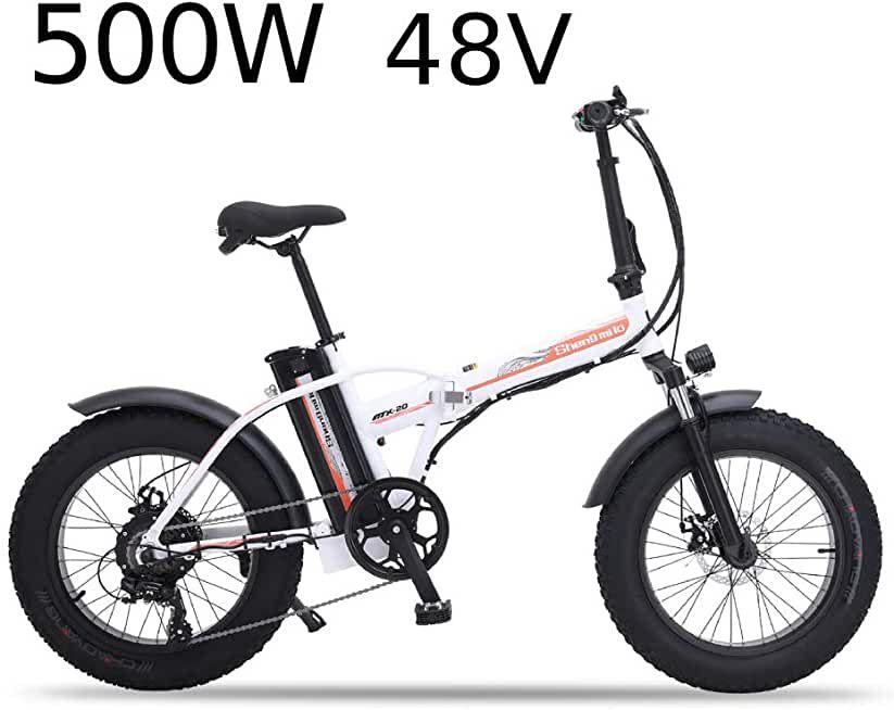 Xxcy Mx20 Elektrische Faltrad Unisex Faltbares Fahrrad 500 Watt 48 V 15 Ah 20 Zoll Fett Reifen In 2020 Elektrofahrrad Fahrrad Faltrad