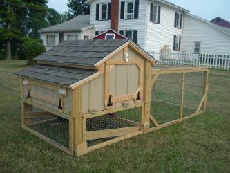 Gellencoop popular plans for chicken tractor simple for Simple chicken coop plans for 6 chickens