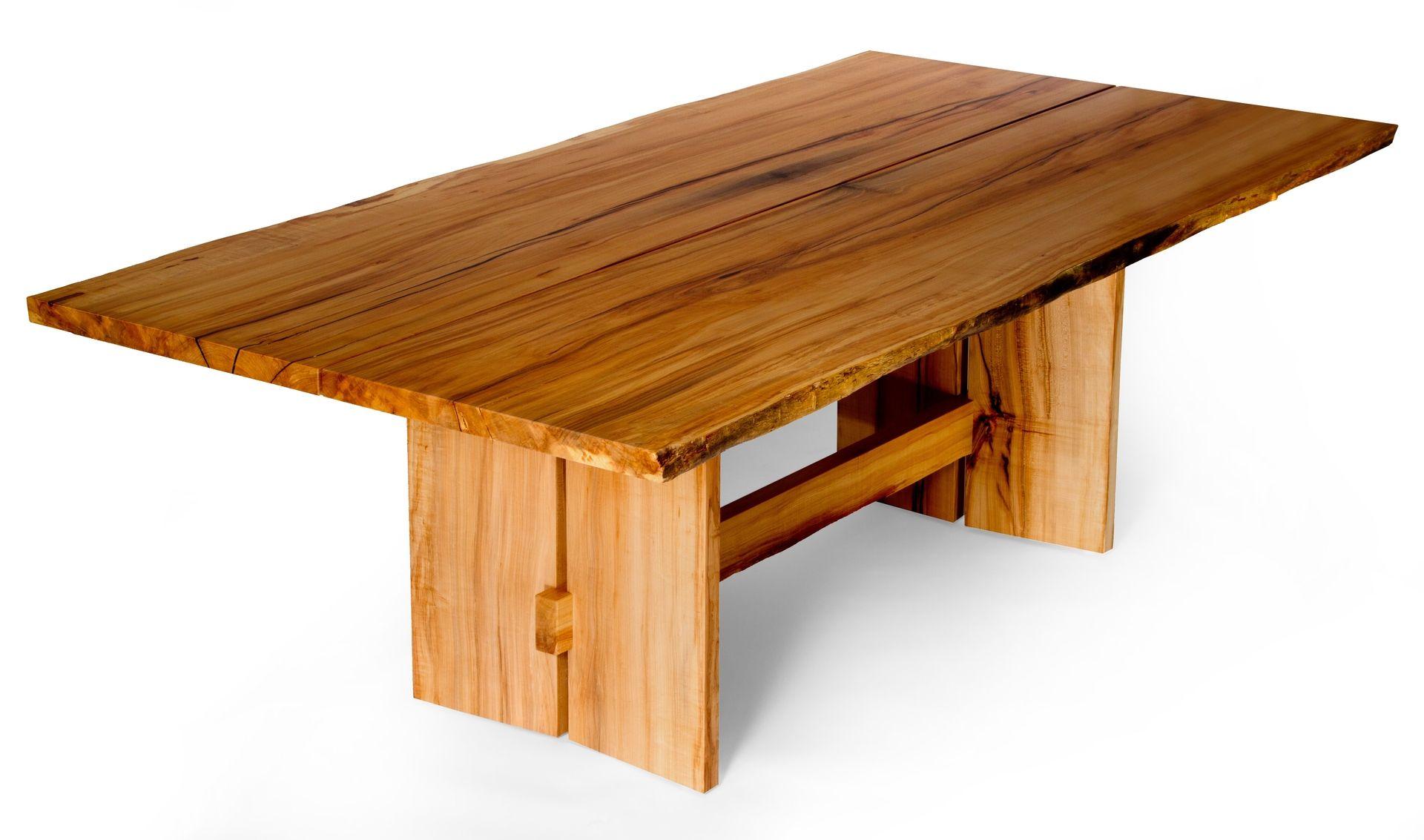 Custom Made Live Edge Slab Maple Dining Table  Tables  Pinterest Custom Maple Dining Room Table Decorating Inspiration