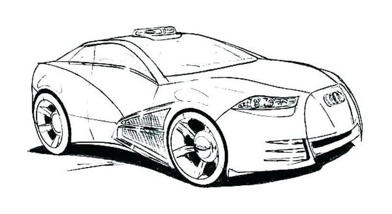 Printable Lamborghini Coloring Pages