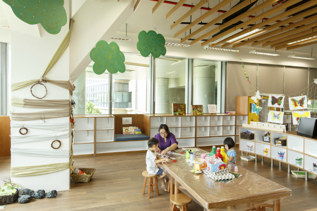 Childcare In Jurong Caterpillar S Cove Wins Award Young Parents Young Parents Childcare Education Center