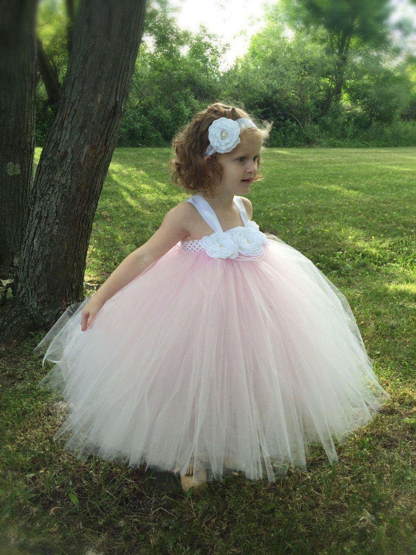 451db4f1bd Pink Flower Girl Dress