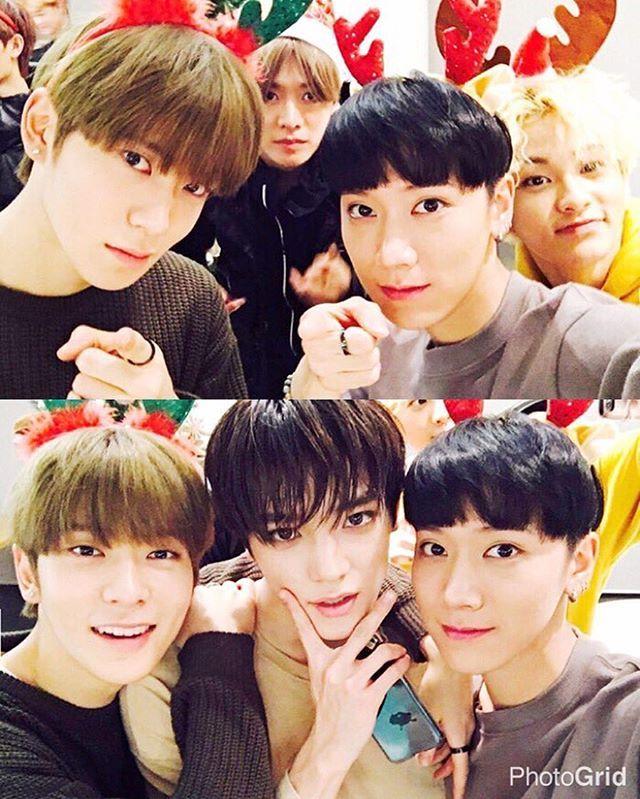 Jaehyun, Yuta, Ten, Mark & Taeyong