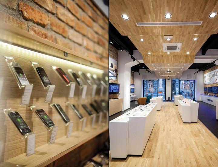 Smartphone concept store by brigada telecommunication ...