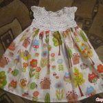 Kumaşla Örgü Kız Çocuk Elbise Modelleri ve Yapılışı - Mimuu.com #dollclothes