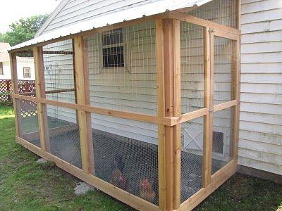 Garage City Coop Chickens Backyard Building A Chicken Coop Diy Chicken Coop