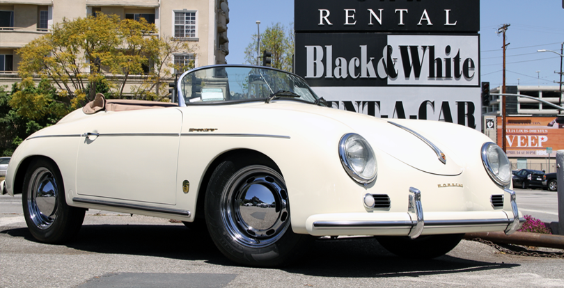 black and white car rental. For under 25 as well Car